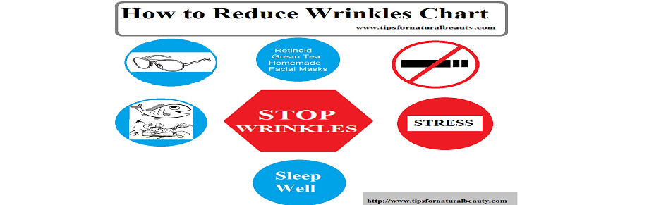 How to reduce wrinkles on face naturally?