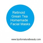 Retinoid and grean tea reduces wrinkles
