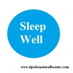 Sleep well to reduce wrinkles