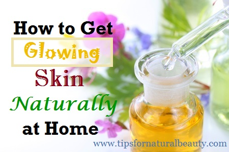 How to Get Glowing Skin Naturally at Home using lactic acid