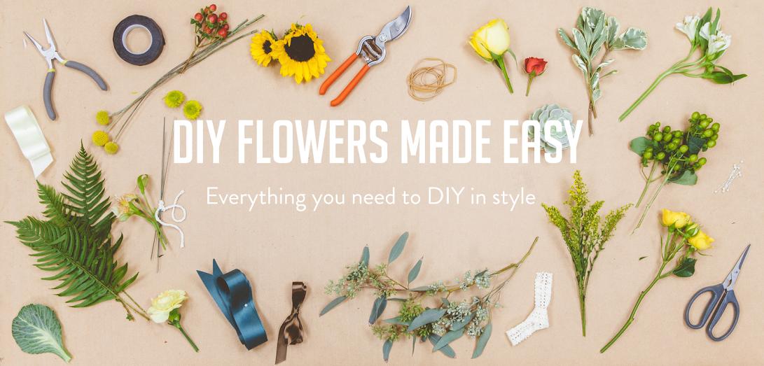Bloominous DIY wedding flowers