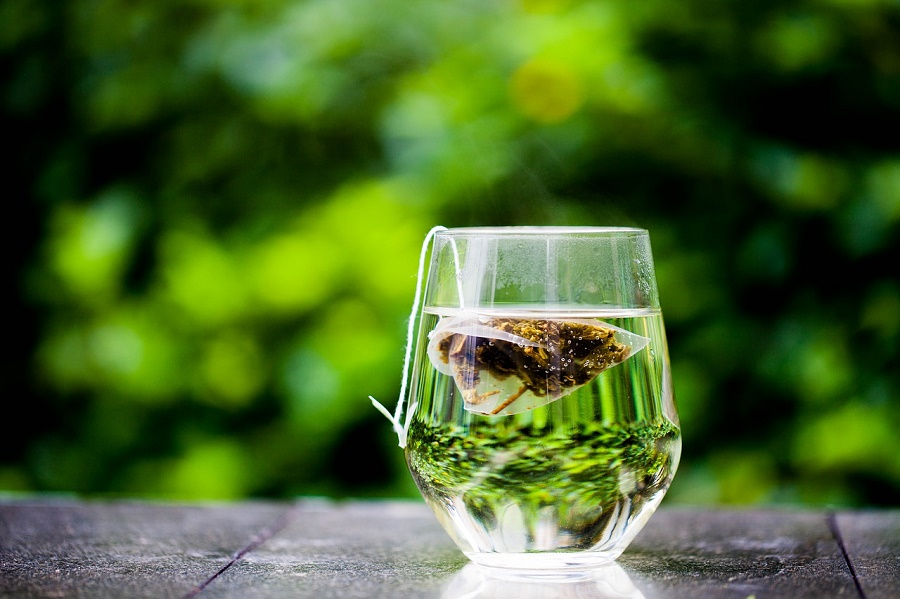 green tea-cup